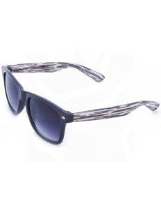Sluneční brýle Wayfarer – hnědo-bílé proužky
