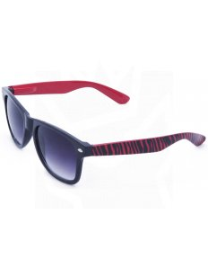 Sluneční brýle Wayfarer – červená zebra