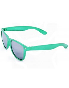 Sluneční brýle Wayfarer – zelené lesklé