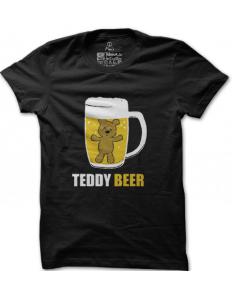 Pánské tričko s potiskem Teddy beer