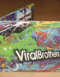 Papírová peněženka ViralBrothers