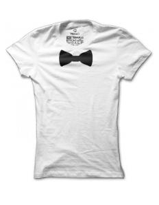 Dámské tričko s potiskem Bow tie