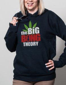 Dámská mikina s potiskem The Big Bong Theory