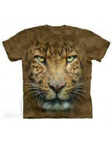 Dámské tričko se zvířecím potiskem (the mountain) Leopard
