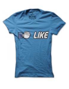Dámské tričko s potiskem Like