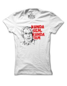 Dámské tričko s potiskem Pussy Zeman