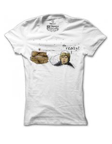 Dámské tričko s potiskem Winter is coming