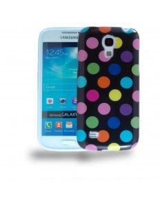 Kryt na mobilní telefon Colored Dots – Samsung Galaxy S4 mini