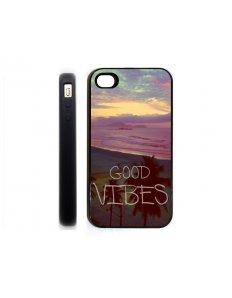 Kryt na mobilní telefon Good Vibes – iPhone 4 – 4S