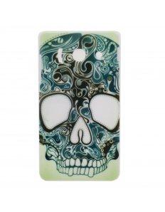 Kryt na mobilní telefon Green Skull – Huawei Ascend Y300