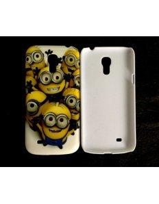 Kryt na mobilní telefon Lots of minions – Samsung Galaxy S4 mini