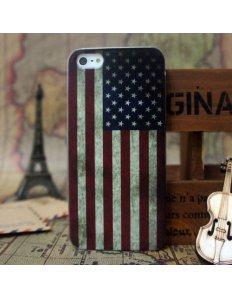 Kryt na mobilní telefon Old School Amerika – iPhone 5/5S