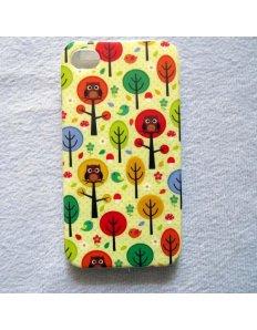 Kryt na mobilní telefon Owl – iPhone 4/4S