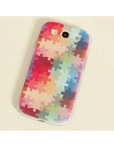 Kryt na mobilní telefon Puzzle – Samsung Galaxy S3