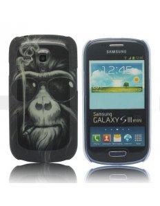 Kryt na mobilní telefon Smoking Orangutan – Samsung galaxy S3 mini