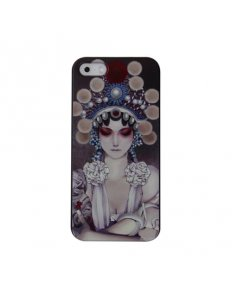 Kryt na mobilní telefon Woman - iPhone 5/5S