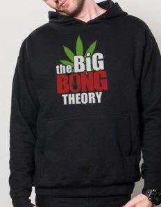 Pánská mikina s potiskem The Big Bong Theory