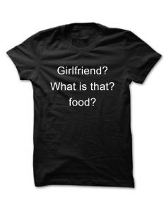 Pánské tričko s potiskem Girlfriend