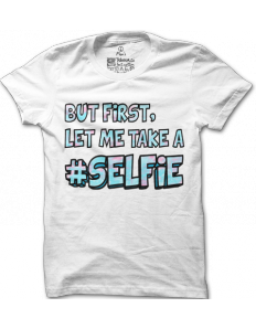 Pánské tričko s potiskem Take a Selfie