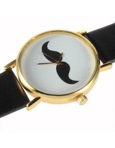 Dámské ciferníkové hodinky Moustache