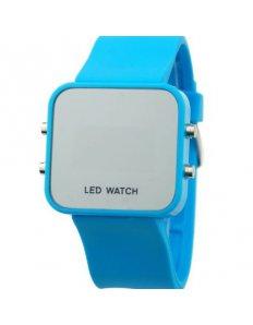 Dámké digitální LED hodinky Digital Sport - Blue