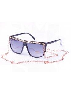 Sluneční brýle Retro – Zlatý řetízek