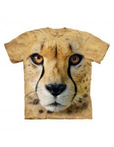 Pánské tričko se zvířecím potiskem (the mountain) Cheetah
