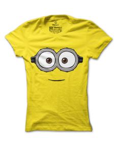 Dámské tričko s potiskem Veselý mimoň