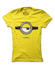 Dámské tričko s potiskem Smutný mimoň