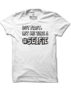 Pánské tričko s potiskem Selfie – limitovaná edice