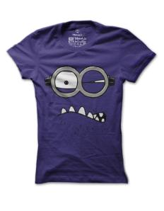 Dámské tričko s potiskem Rozzlobený mimoň