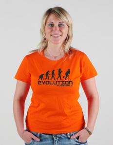 Dámské sportovní tričko Florbal – Florbal evoluce