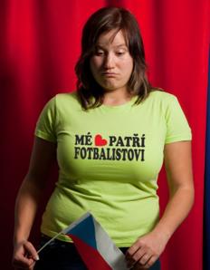 Dámské sportovní tričko Fotbal - Fotbalistovi
