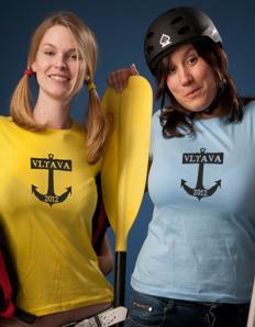 Dámské sportovní tričko Vodácké - Vodácká kotva