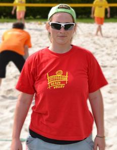 Dámské sportovní tričko Beach volejbal - Beach 2