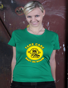 Dámské tričko s potiskem Baby