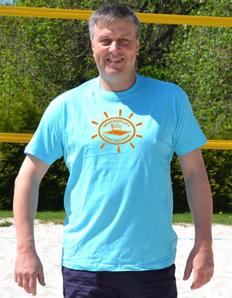 Pánské sportovní tričko Beach volejbal – Beach volley