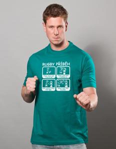 Pánské sportovní tričko Rugby – Rugby příběh