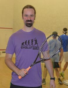 Pánské sportovní tričko Squash - Squash evoluce