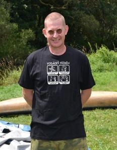 Pánské sportovní tričko Vodácké – Vodastory