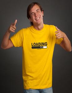 Pánské tričko s potiskem Loading