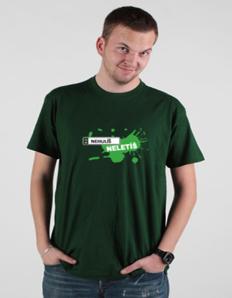 Pánské tričko s potiskem Nehulíš neletíš