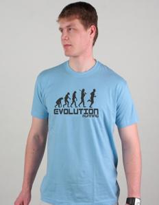 Pánské sportovní tričko Běžecké – Běh evoluce