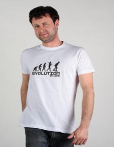 Pánské sportovní tričko Inline brusle – Inline evoluce