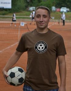 Pánské sportovní tričko Nohejbal – Hraju nohejbal