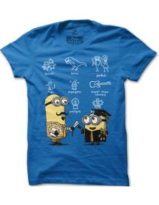 Pánské tričko s potiskem Mimoň absolvent