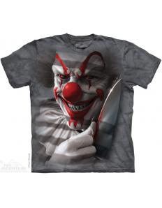 Dámské tričko s potiskem Clown cut