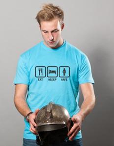 Pánské sportovní tričko Hasičské – Hasič eat