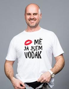 Pánské sportovní tričko Vodácké – Vodák pusa