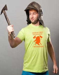 Pánské sportovní tričko Hasičské – Hasič bezpečí